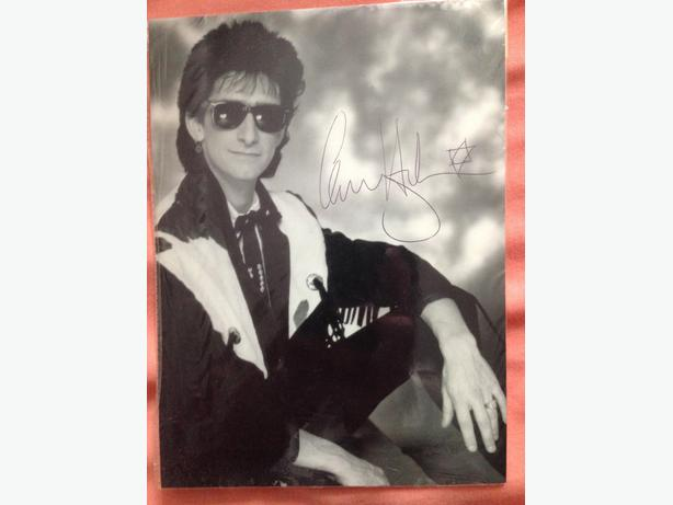 Gary Holton (Wayne from auf Weidershen pet) signed photo (RARE!!!!)
