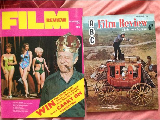 carry on movie covers on film review