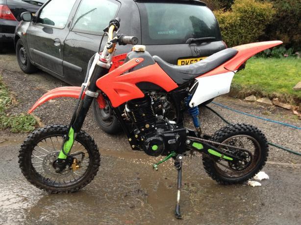  Log In needed £350 · lifan 150cc pit bike pitbike (similar stomp kx wpb  cr yz rm ktm)