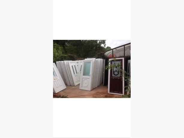 used upvc doors