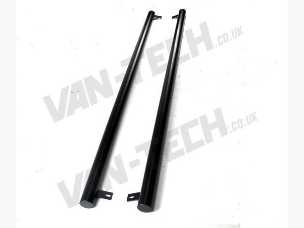 For Sale: VW T5 SWB LWB Transporter Black Flat End Side Bars