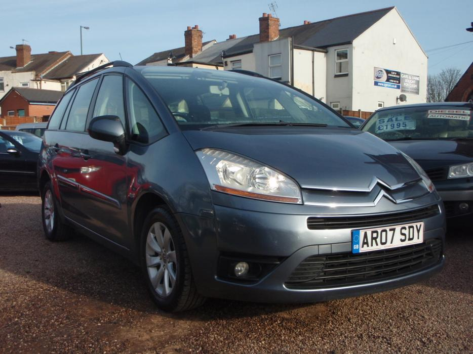 citroen grand c4 picasso 1 6 hdi 16v vtr 5dr willenhall wolverhampton. Black Bedroom Furniture Sets. Home Design Ideas