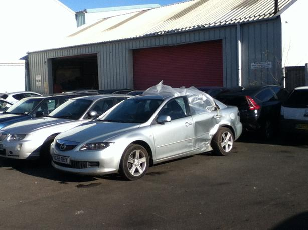 MAZDA 6 1.8 PETROL BREAKING FOR SPARES BLUE BLACK SILVER