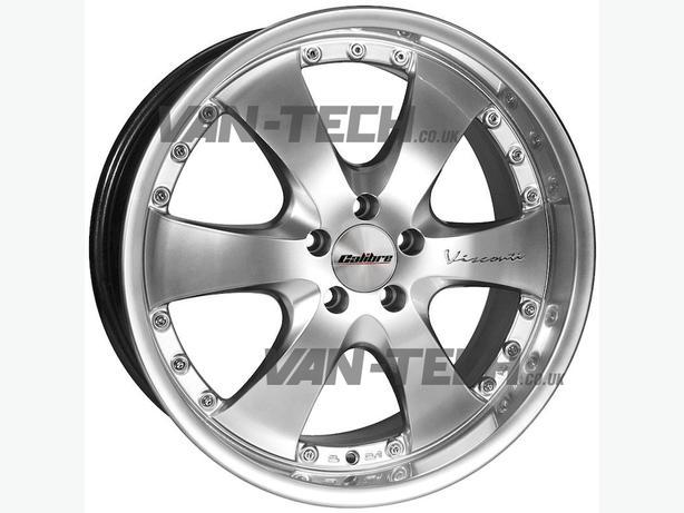 For sale: Calibre Voyage 20″ Alloy Wheel Premium Silver VW T5 Van