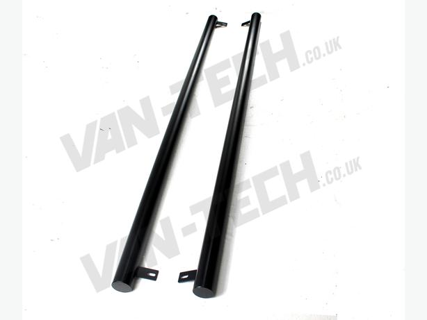 For Sale:  VW T4 SWB LWB Transporter Black Flat End Side Bars