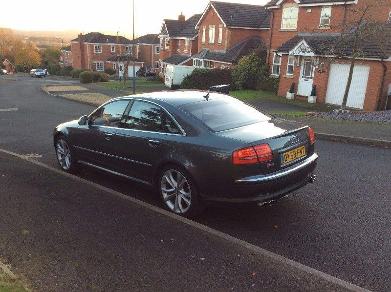 audi s8 5 2 v10 lambo engine 450 bhp face lift model 2009 dudley dudley. Black Bedroom Furniture Sets. Home Design Ideas