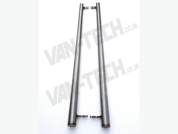 For Sale: VW T4 SWB LWB Flat End Side Bars Stainless Steel Rat Look