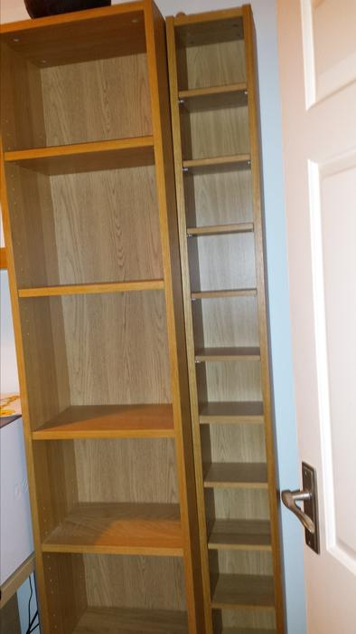 Ikea billy bookcase and cd dvd rack dudley wolverhampton - Ikea porta cd billy ...