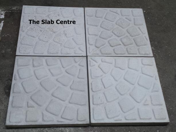Concrete Circle Cobble Stone Quadrant *NEW*