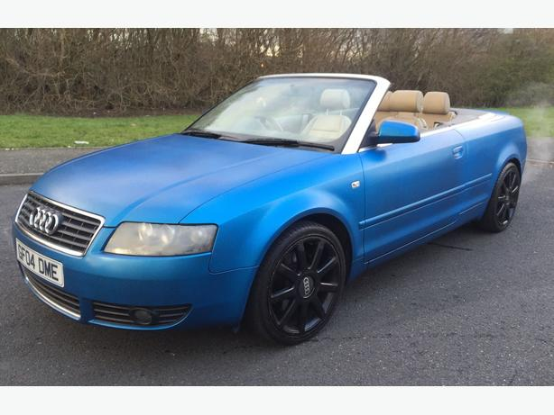 2004 04 audi a4 cabriolet convertible 3 0 v6 auto one off car west bromwich dudley. Black Bedroom Furniture Sets. Home Design Ideas