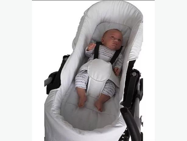 mamas and papas pliko newborn pram liner