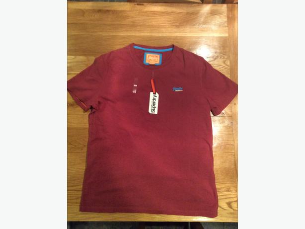 Brand new men's GENUINE SUPERDRY t-shirt in size XXL