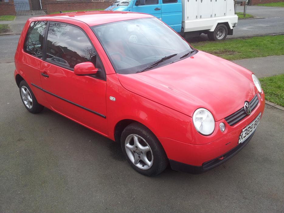 2001 vw lupo 1 0 red 12 months mot tipton sandwell. Black Bedroom Furniture Sets. Home Design Ideas