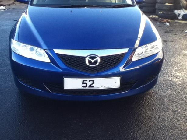 MAZDA 6 BREAKING BLUE BLACK SILVER PETROLS