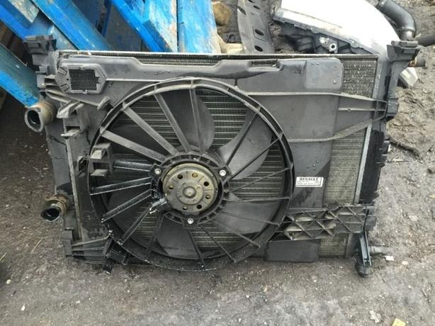 RENAULT MEGANE II 1.9 DCI RADIATOR PACK AND FAN