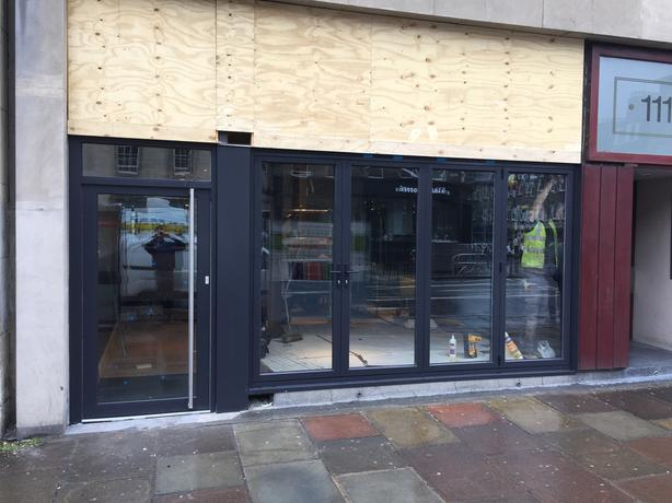 Shop Fronts Aluminium Direct from the Factory