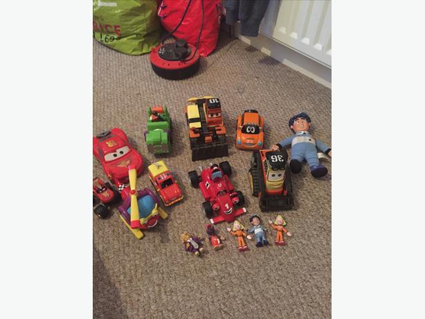 Bundle of boys toys