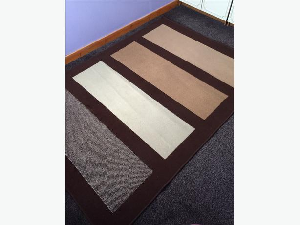 Chocolate colour rug