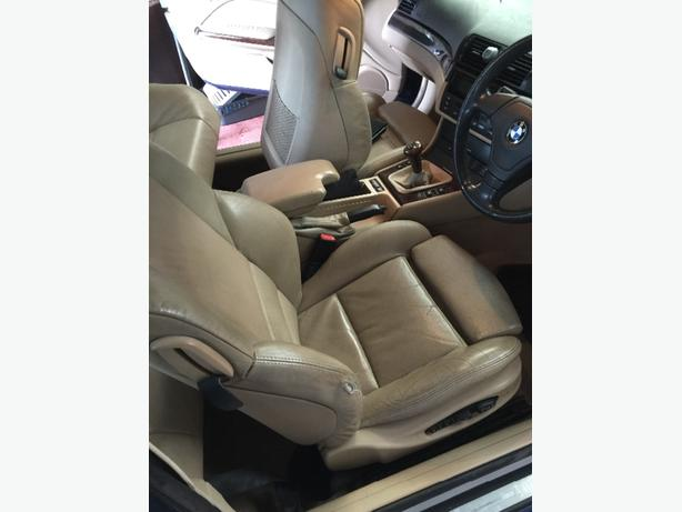 Log In Needed 120 Complete Interior Bmw E46 Beige Leather Coupe All Interior Parts Available