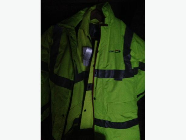 Hi-Viz coat