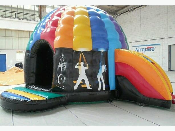 Large Disco Dome with Slide