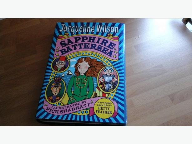 Sapphire battersea and emerald star books Jacqueline Wilson