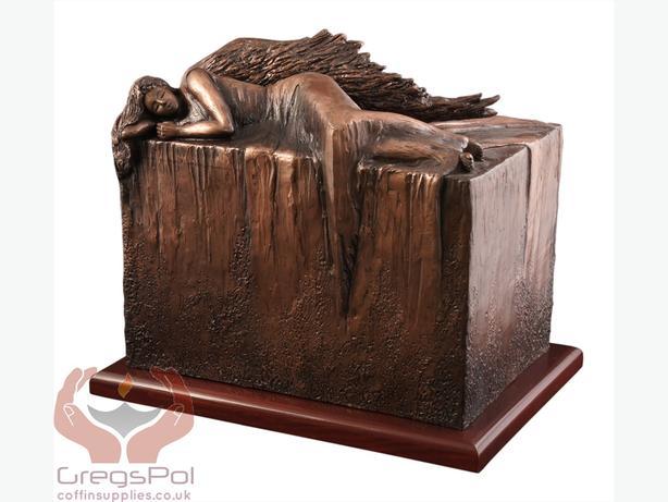 Unique Artistic Urn Angel at Rest Cremation Urn Funeral Urn For Adult