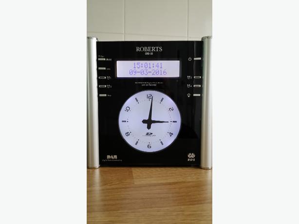 Roberts DAB Radio alarm clock/ SD recorder