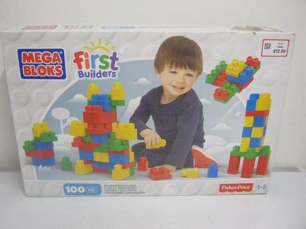 Fisher Price Mega Bloks First Builders 100 Pcs