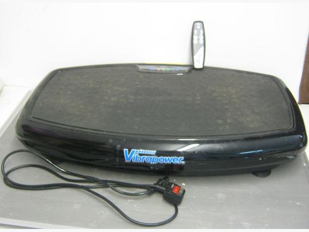 VibraPower Slim Black With Remote control JFB01