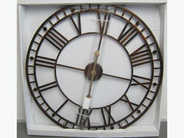 Garden Skellington Roman Numerals Clock
