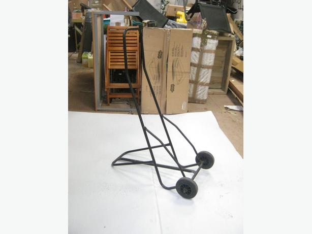 Black Push Trolley