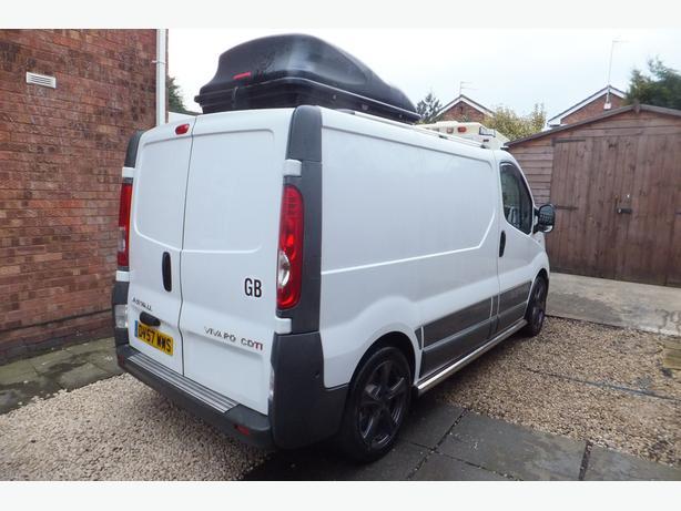vauxhall vivaro camper vans for sale