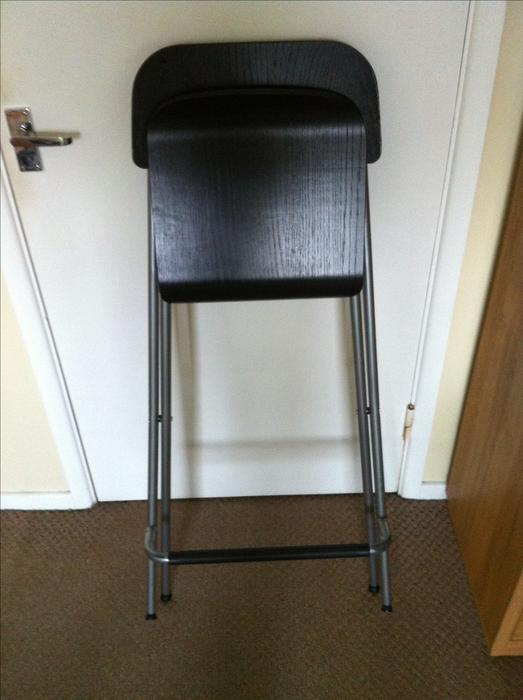 Ikea Folding Bar Stools Pair Halesowen Wolverhampton