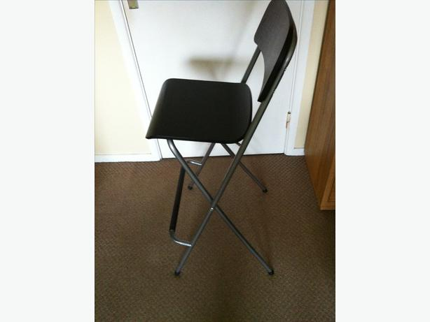Ikea folding bar stools pair halesowen wolverhampton for Ikea folding stool