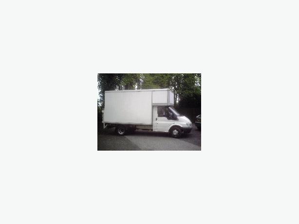 Man with Large Van (Transit Boxed Luton))