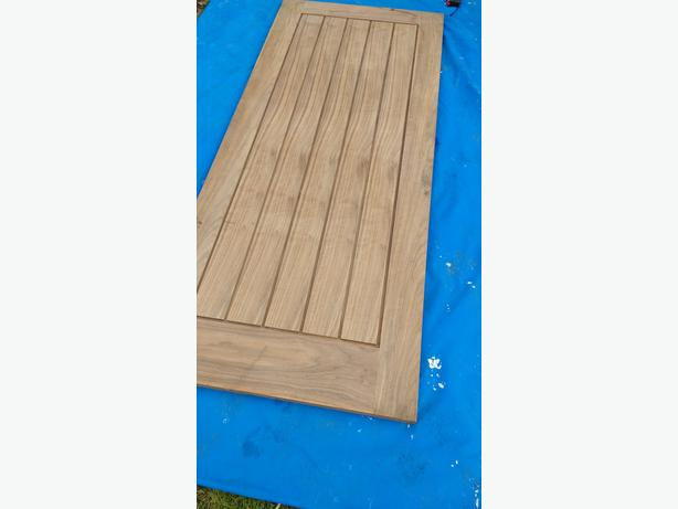 Solid Valnut Door 33inch x 78inch
