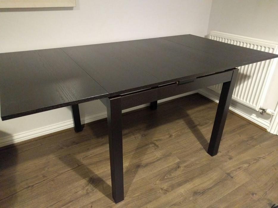 ikea bjursta dining table halesowen dudley. Black Bedroom Furniture Sets. Home Design Ideas