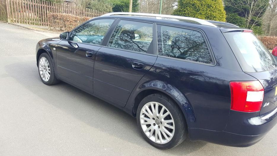 audi a4 1 9 tdi se estate 2003 03 reg 17 audi alloys good engine and gearbox other black. Black Bedroom Furniture Sets. Home Design Ideas