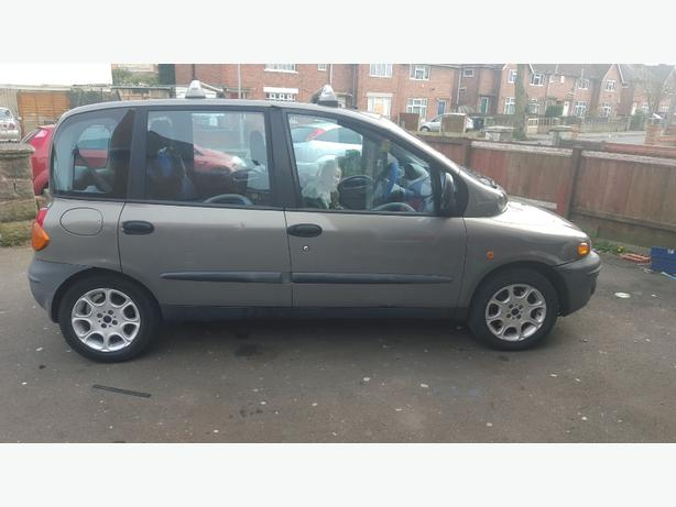 6 seater fiat multipla elx mot end ov may 2016 bloxwich wolverhampton. Black Bedroom Furniture Sets. Home Design Ideas