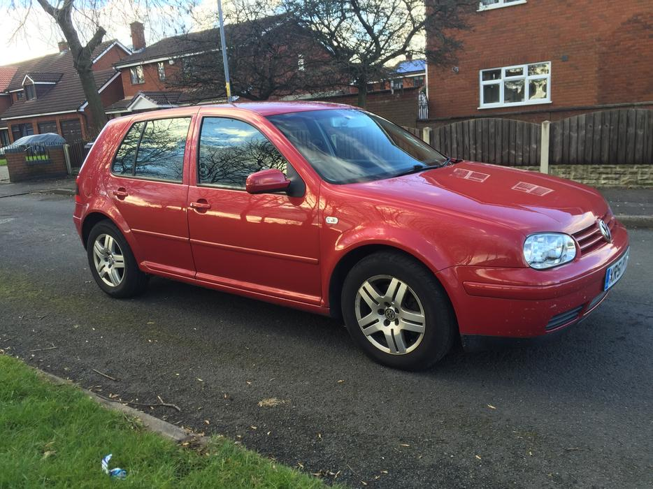 2001 51 volkswagen golf gt tdi 130 bhp model red di willenhall sandwell. Black Bedroom Furniture Sets. Home Design Ideas