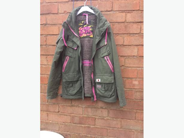 Brand New Superdry coat