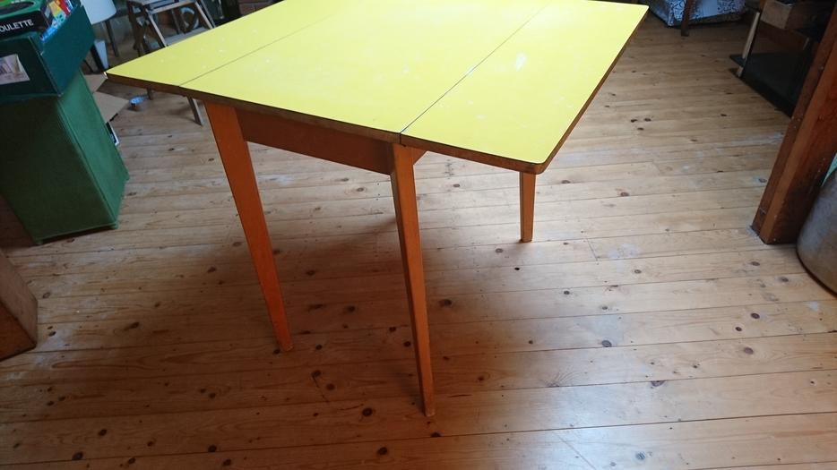 Vintage Retro 1960s Formica Top Fold Down Dining Kitchen