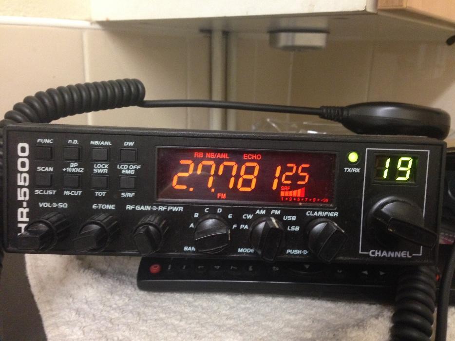 £100 · intek HR-5500 cb radio