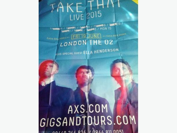 Take that iii massive poster
