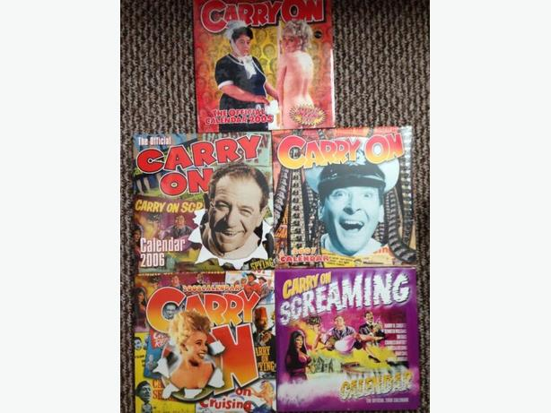 Carry on movies sealed calendars