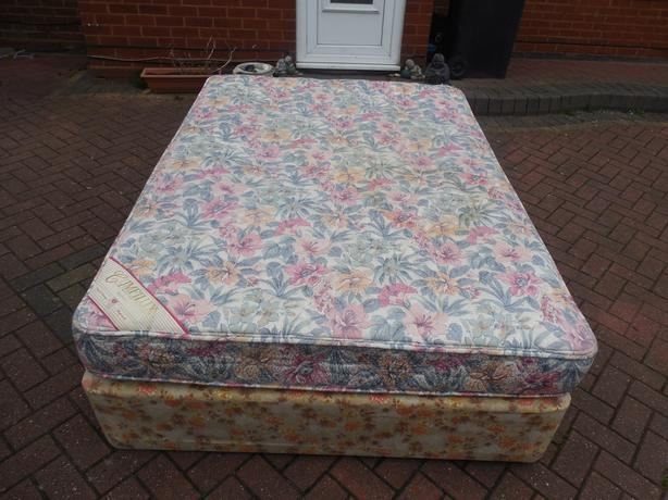 Double Divan Bed Mattress For Sale Dudley Wolverhampton