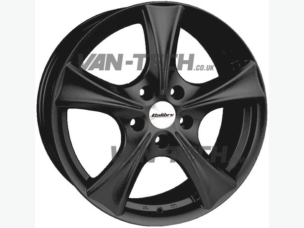 For sale: Calibre Trek Black 18″ Alloy Wheels for VW  Transporter T5
