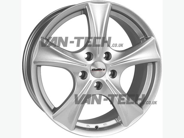 For sale: Calibre Trek Silver 18″ Alloy Wheels for VW T5