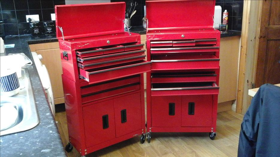 Halfords 8 Drawer Tool Centre Wednesfield Walsall